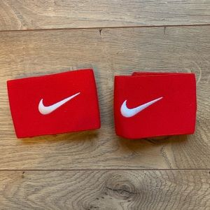 Nike Red Shin Guard Straps